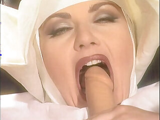 Jessica rizzo is a dirty nun pissed by filthy men
