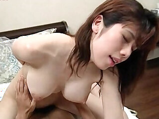 Japanese girlfriend showing dick sucking and riding skills