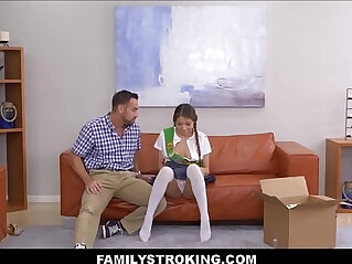 daughter - Girl Scout Asian Step Daughter Fucked