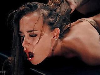Kacy Lane Rough Sex and Hardcore Bondage Slave Training