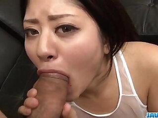 Mind blowing oral with Konatsu Hinata