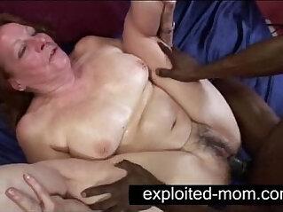 Old whore taking black cock in Granny Sex Video