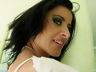 Cecilia Vega in rough hardcore anal sex scene by Ass Traffic