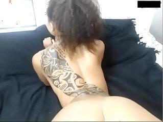 Pretty lightskin gets anal