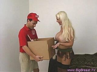Big breasts babe tittyfucked