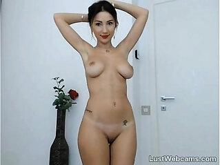 Cute babe teasing on webcam