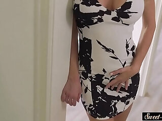 Lovely milf doggystyled by stepson