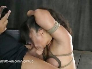 AVN Nominee Penny Pax Fucked in Bondage
