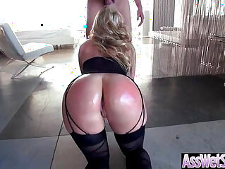 Big Ass Wet Oiled big ass Girl AJ Applegate Get Nailed Deep In Her Behind clip