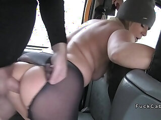 nasty - Nasty blonde rims and bangs in cab