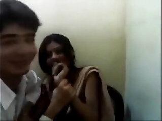 Indian girlfriend hot kiss