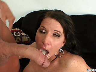 Hot Cougar Fucked really Hard By A Big Dick
