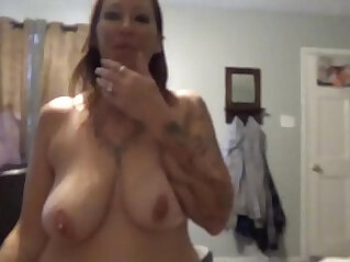 Hot wife Angie Michelle comes home fuck her Big Daddy