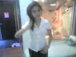 cute thai student