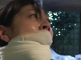 Dirty bitch Arimi Mizusaki is all tied up, gagged and whipped until she cries.WMV