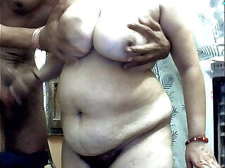 Me and my hubby first time on cam