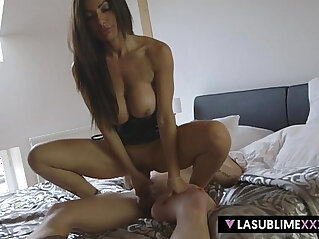 LaSublimeXXX Italian MILF session with young Czech guy