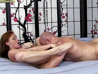 Alex Tanner Gives Sensual Erotic Massage Sex and BJ!