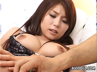 Asian getting her wet cunt toyed and finger fucked