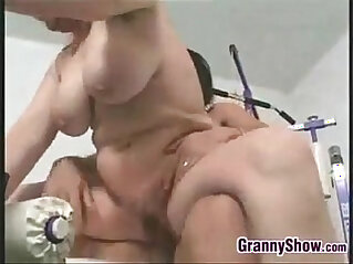 Thick Grandma And A Young Guy Fucking